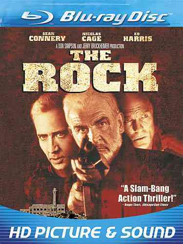 ROCK BY CONNERY,SEAN (Blu-Ray)